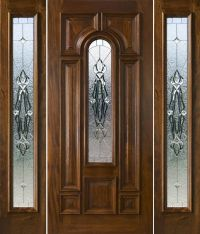 front door with sidelights and transom saratoga