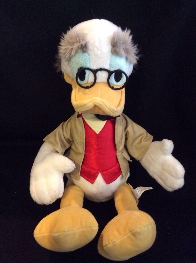 Disney Professor Ludwig Von Drake Plush Stuffed Soft Toy