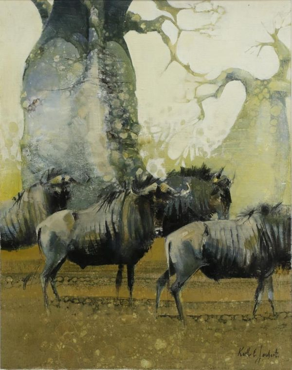 Keith Joubert' Selinda Studio - Gorgeous Painting Original Piece