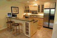 Basement Kitchen Designs Grey Basement Design Ideas In ...