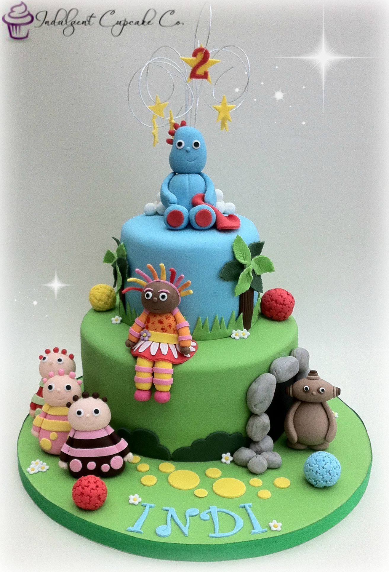 In The Night Garden Birthday Party Ideas Gardens Dessert Buffet