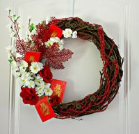 Autumn Harvest Wreath - Celebrate Chinese Moon Festival ...