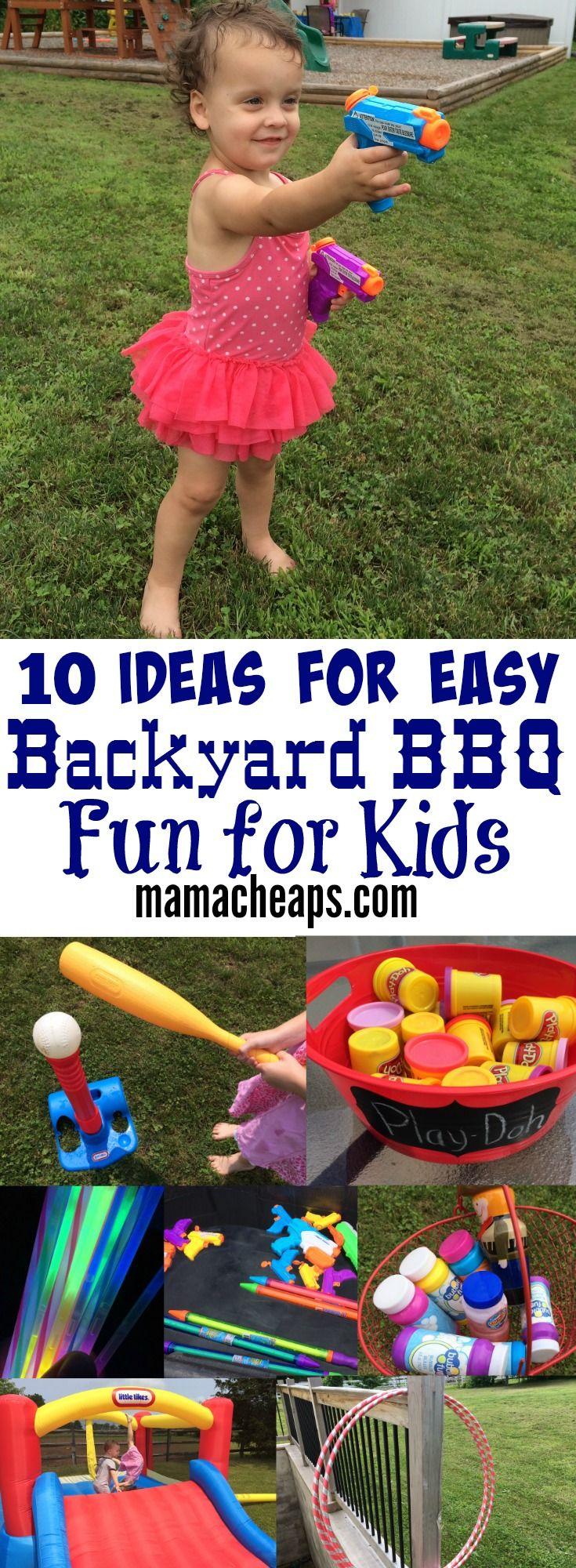 Easy Backyard Games