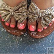 25. #jewels - fun summer #pedicure
