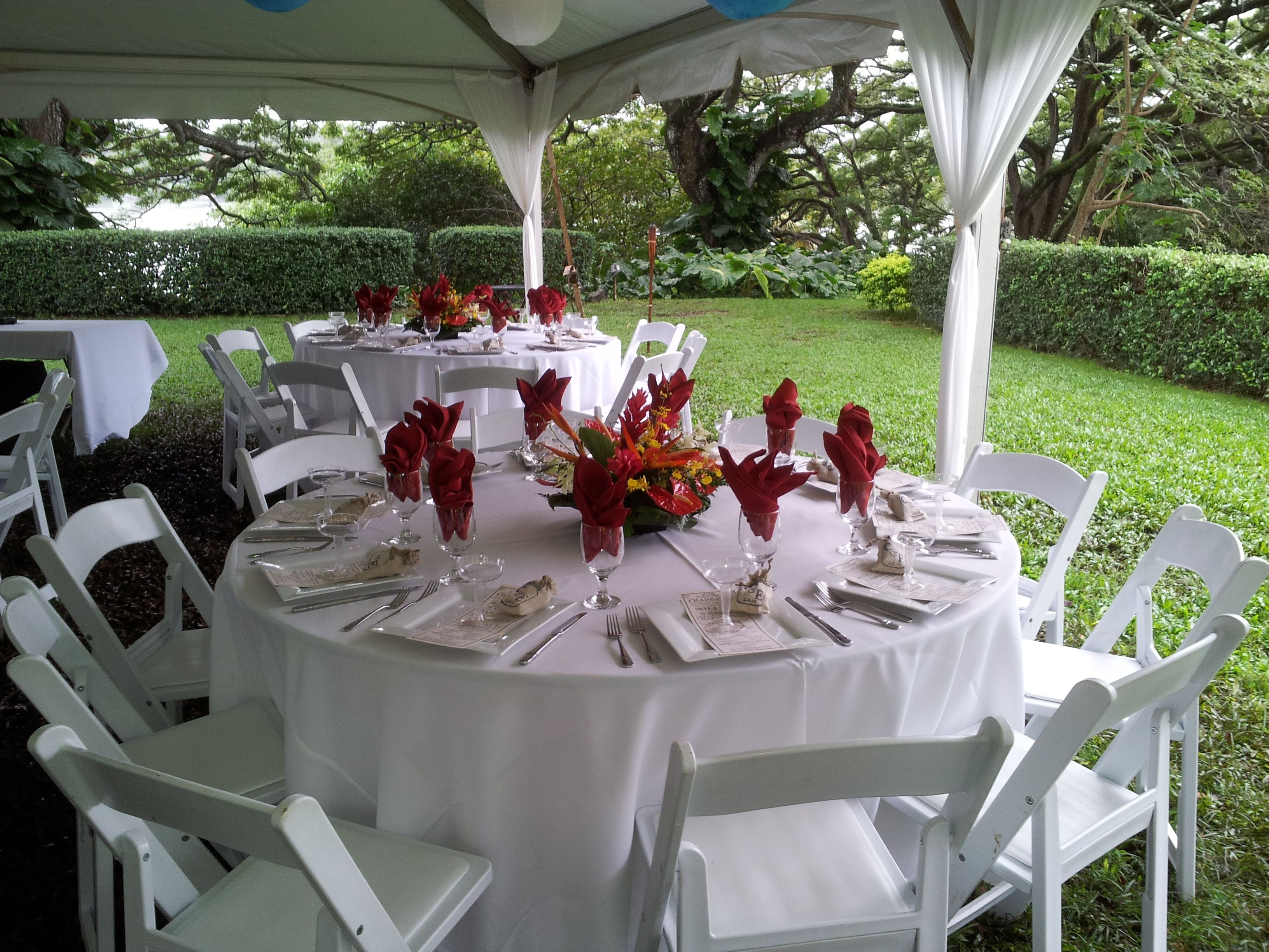 chair covers and table linens rentals chairs for teens 66 quot round guest with white resin