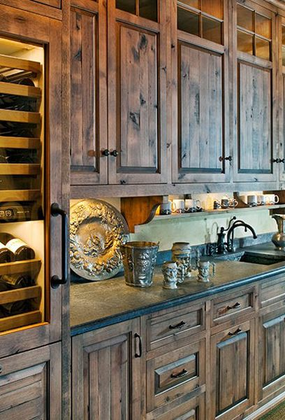 Love love love these cabinets  Rustic Country Decor