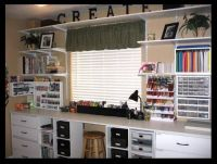 Craft Room Ideas on Pinterest | Ikea Craft Room, Room ...