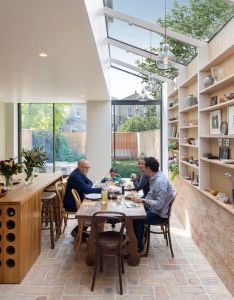Neil dusheiko creates home for father in law featuring  wall of art also rh za pinterest