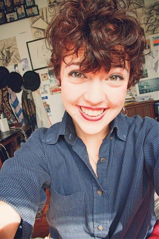 Short Hairstyles For Curly Hair And Oval Face Ideas