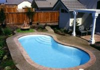 Small kidney shaped swimming pool designs for small ...