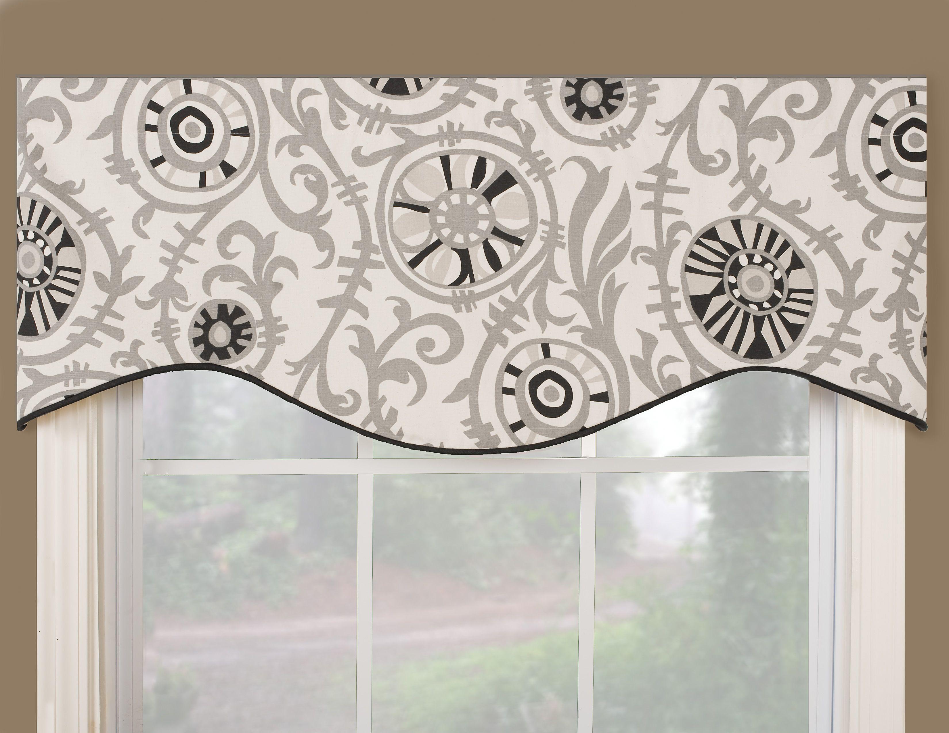 Vcny Infinity Sheer Window Scarf Valance 54x216