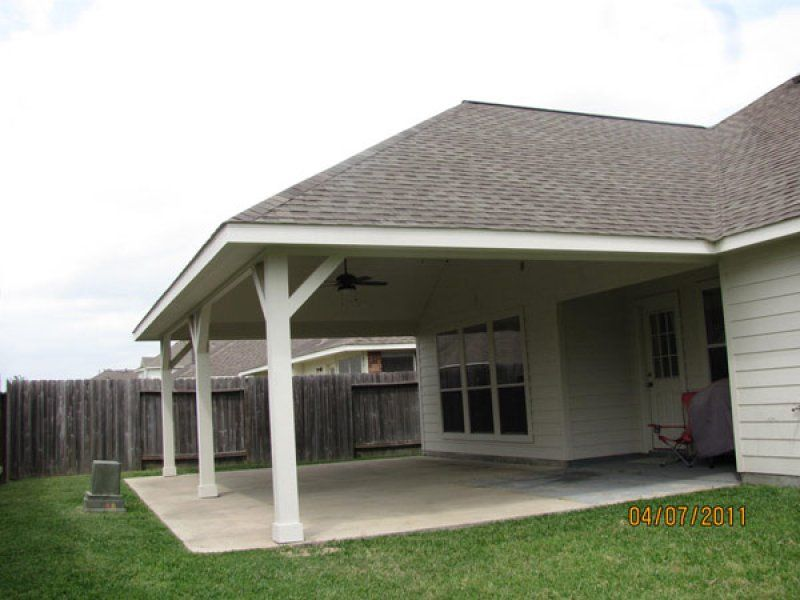 Screened In Deck With Hip Roof  Hipped Roof Porch Http