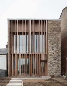 Gallery of one up two down mccullough mulvin architects also rh pinterest