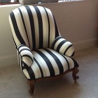Victorian-armchair-nursing-chair-newly-reupholstered ...