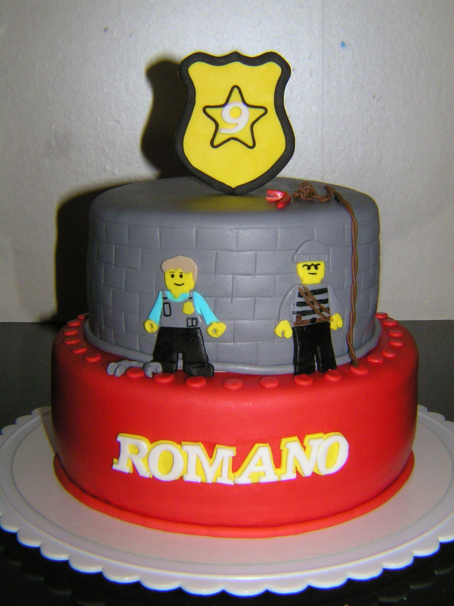 Lego City Undercover Cake Made By Zoetekroon