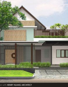 House also sanctuary serpong indonesia under construcion october rh pinterest