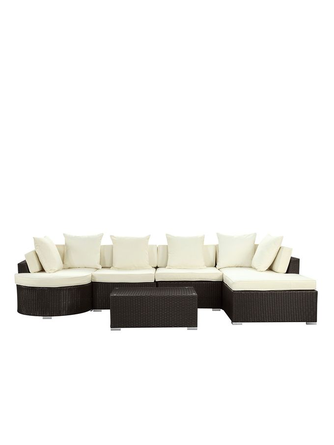 lexmod monterey outdoor wicker rattan sectional sofa set best apartment bed santa cruz more colors from pearl river modern furniture on gilt