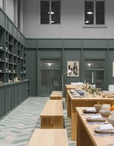 Stockholm   alma creative space by tham videg rd is filled with custom furniture design collegessimple interiorinterior also rh pinterest