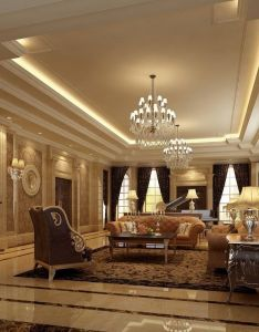 Luxurious living room designs interior design the can be easily designed using expensive finishes decorative lighting also art deco style window and floor treatment bar rh pinterest