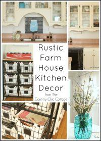 Rustic Kitchen Decor on Pinterest