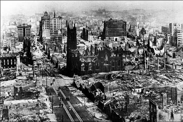 Resultado de imagen para san francisco earthquake