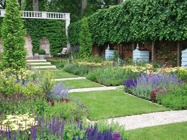 Pictures Of Formal English Gardens Gravel Path English Gardens
