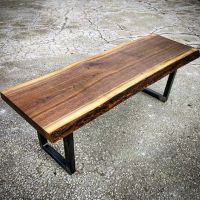 Live edge black walnut coffee table by barnboardstore.com ...