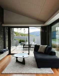 Awesome californian style house in new zealand also interior design rh pinterest