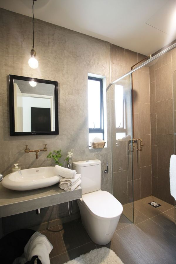 Bathroom Feature Wall Design