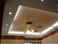 Bedroom. Cove Lighting With Recessed Lighting Setup And ...
