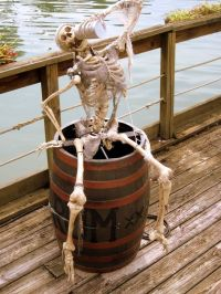 Indoor & Outdoor Halloween Skeleton Decorations Ideas ...