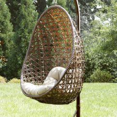 Hanging Lawn Chair Outdoor Patio Glider Chairs Ty Pennington Style Mayfield With Stand