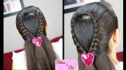 braided water drop easy hairstyles