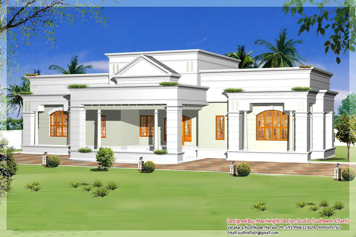 Single Storey Bungalow House Plans Single Storey Kerala House