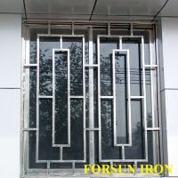 New Simple Iron Window Grill Design - Buy Steel Window ...