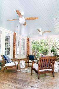Haint Blue Porch Ceiling Makeover | Haint blue porch ...
