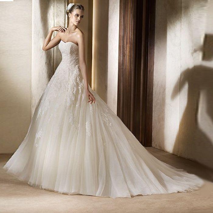 Duchesse Linie Organza Schleppe Brautkleider My Gatsby Wedding