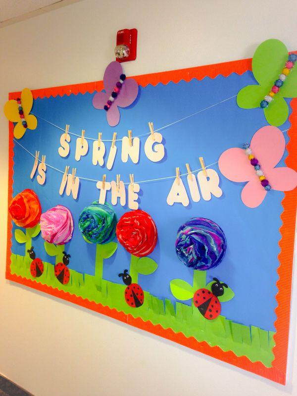 Spring Classroom Bulletin Board Ideas