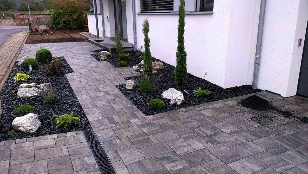 vorgarten modern vorgarten gestalten garten deko pflegeleichter, Garten ideen