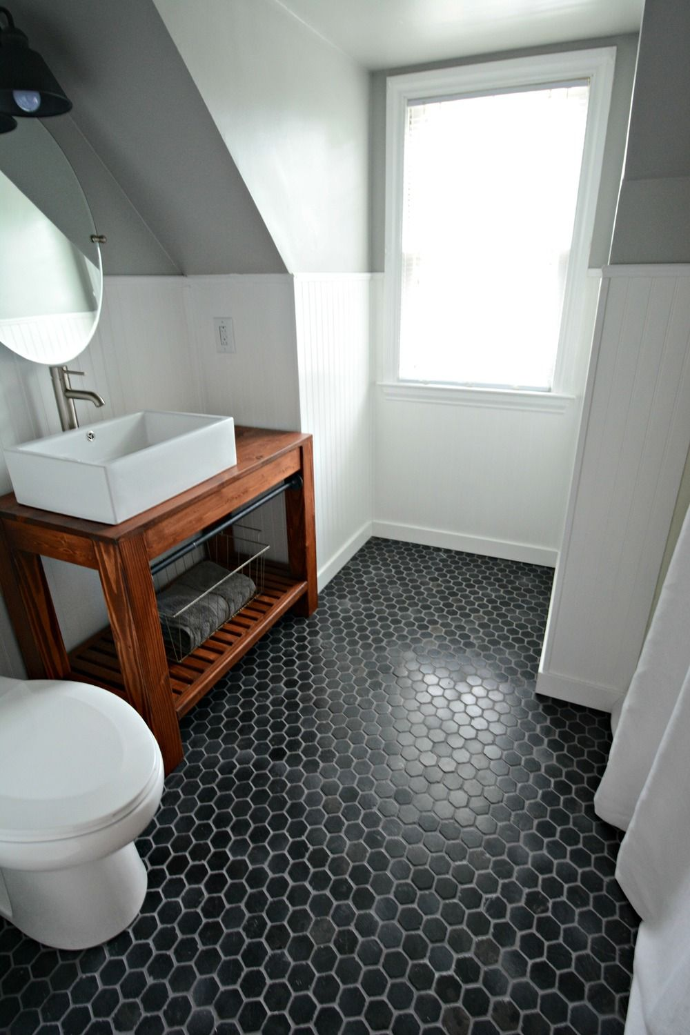 Small Bath Remodel Part Dos  Argos Paint bathroom and