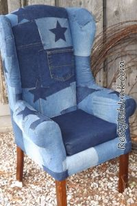 Blue Jean Upholstered Chair. Also, take a look at this ...