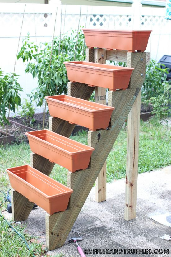 Gutter DIY Gardens Awesome And Herbs Garden