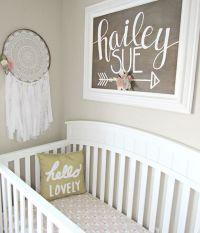 Baby Girl Boho Woodland Nursery | Nursery Ideas ...