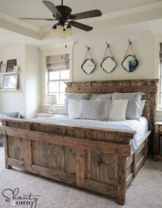 Gorgeous farmhouse projects rustichomedecor rustic home decor pinterest bed linen and house also rh za