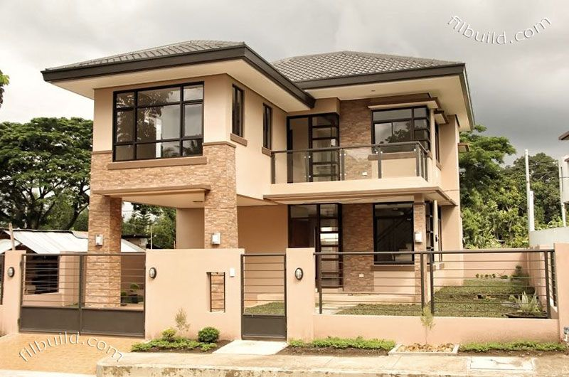 Real Estate Davao Two 2 Storey Naomi House Model Nice Homes