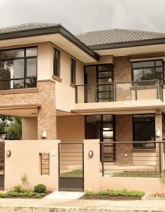 Real estate davao two storey naomi house model also home pinterest rh ar