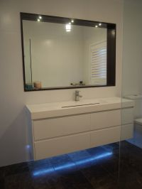 Bathroom lighting LED, recessed mirror lights & under