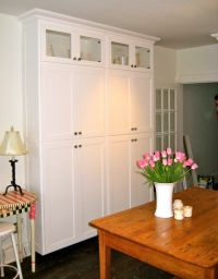 stand alone pantry cabinets | My pantry. I wanted a decent ...