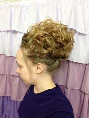 pentecostal hair curly updo