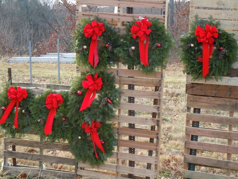 Craft Show Booth Display Ideas Wreaths